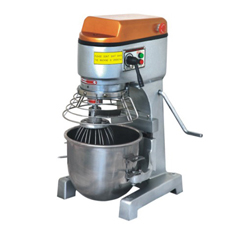 10L mixer with protective net