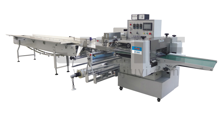 JY-900 Automatic Inverted flow wrapping machine