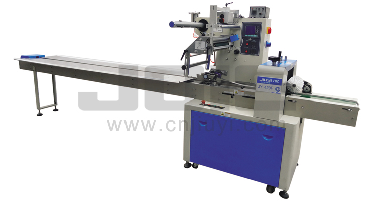 JY-420F Automatic flow wrapping machine