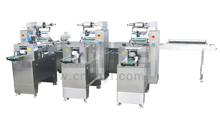 JY-350-HSIII Multi-function 3-stage ice cream bar automatic packing machine