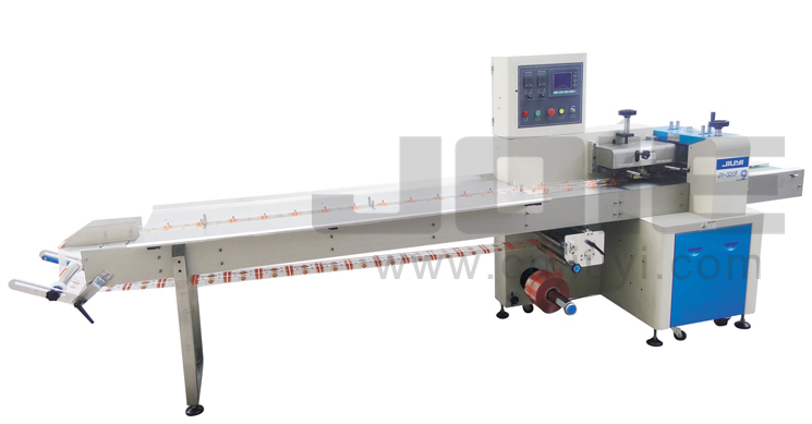 JY-320F Automatic Inverted flow wrapping machin
